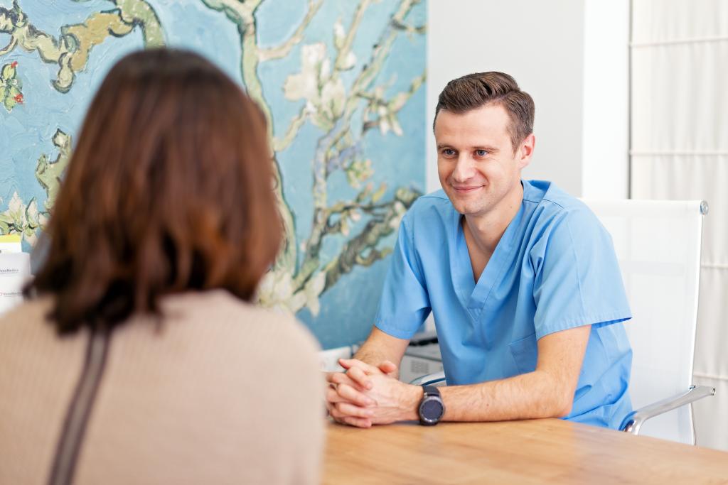 Konsultacja chirurga naczyniowego