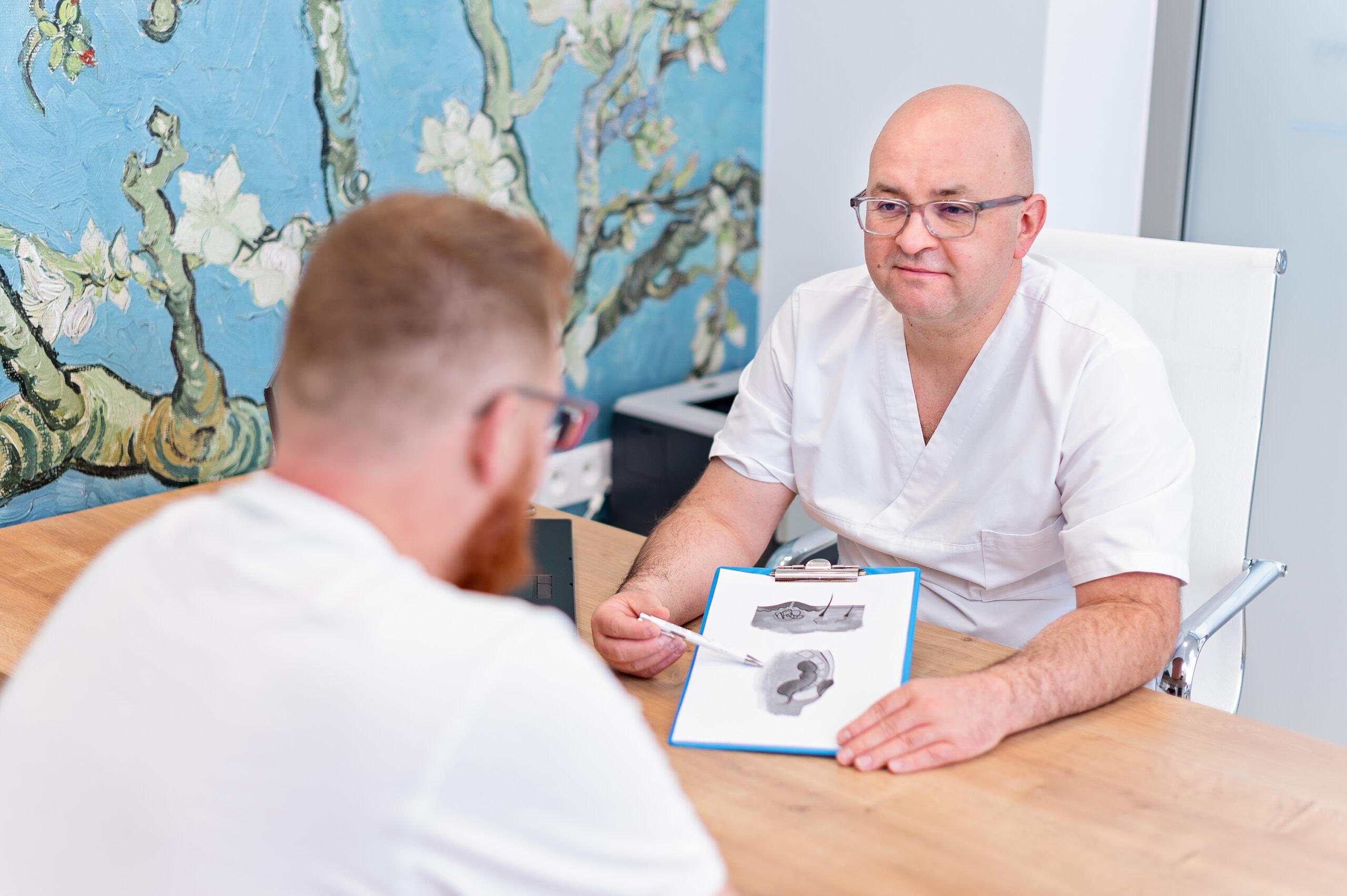 Laserowe leczenie torbieli pilonidalnej – Pilonidal Sinus Laser Closure (SiLaC)
